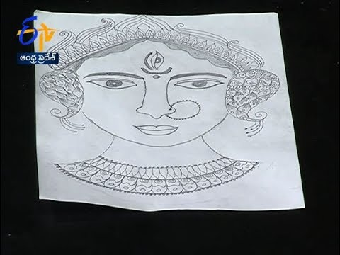Watch Durga Ammavari Drawing Chudandi Cheyandi Sakhi 3rd October 2019 Etv Andhra Pradesh 03 10 2019