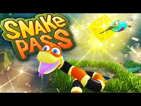 Snake Pass | THE HAPPIEST SNAKE YOU HAVE EVER SEEN! | Let's Play Snake Pass Gameplay Part 1