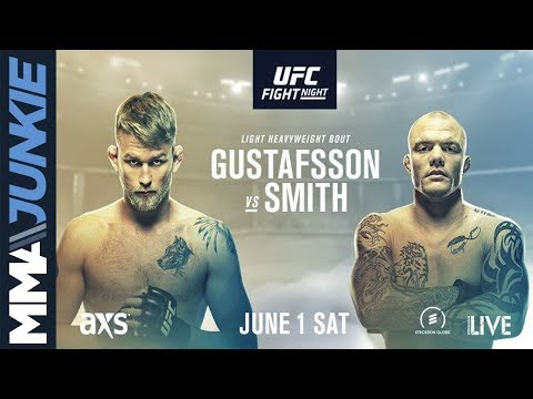 UFC on ESPN+ 11: Gustafsson vs Smith – Online Video
