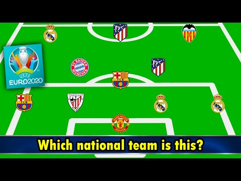 Which EURO 2020 National Team Is This? ⚽️ Football Quiz 2020