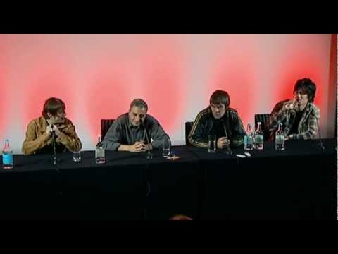 Ian Brown criticises The Daily Mail at The Stone Roses reunion press conference