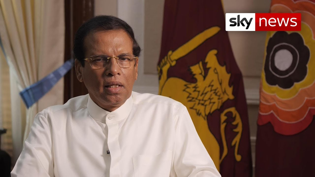 Sri Lanka president: Islamic State should leave the 'country alone'