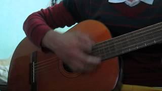 tập chơi guitar Anh Nhớ Em