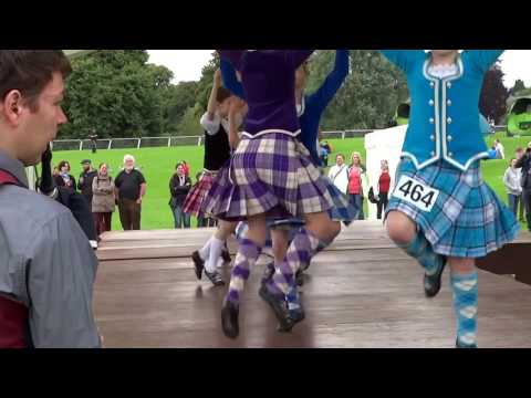 Bagpipes And Sword Dancing Highland Games Perth Perthshire Scotland
