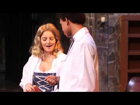 """""""Young Frankenstein"""" onstage at Chagrin Falls High School"""