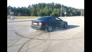 BMW 530D е39 газ - тормоз