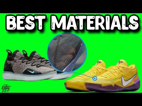 Top 10 Basketball Shoes with the Best Materials!