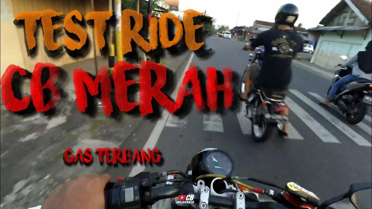 Riding Di Sore Hari Pakai CB Merah Vlog#1