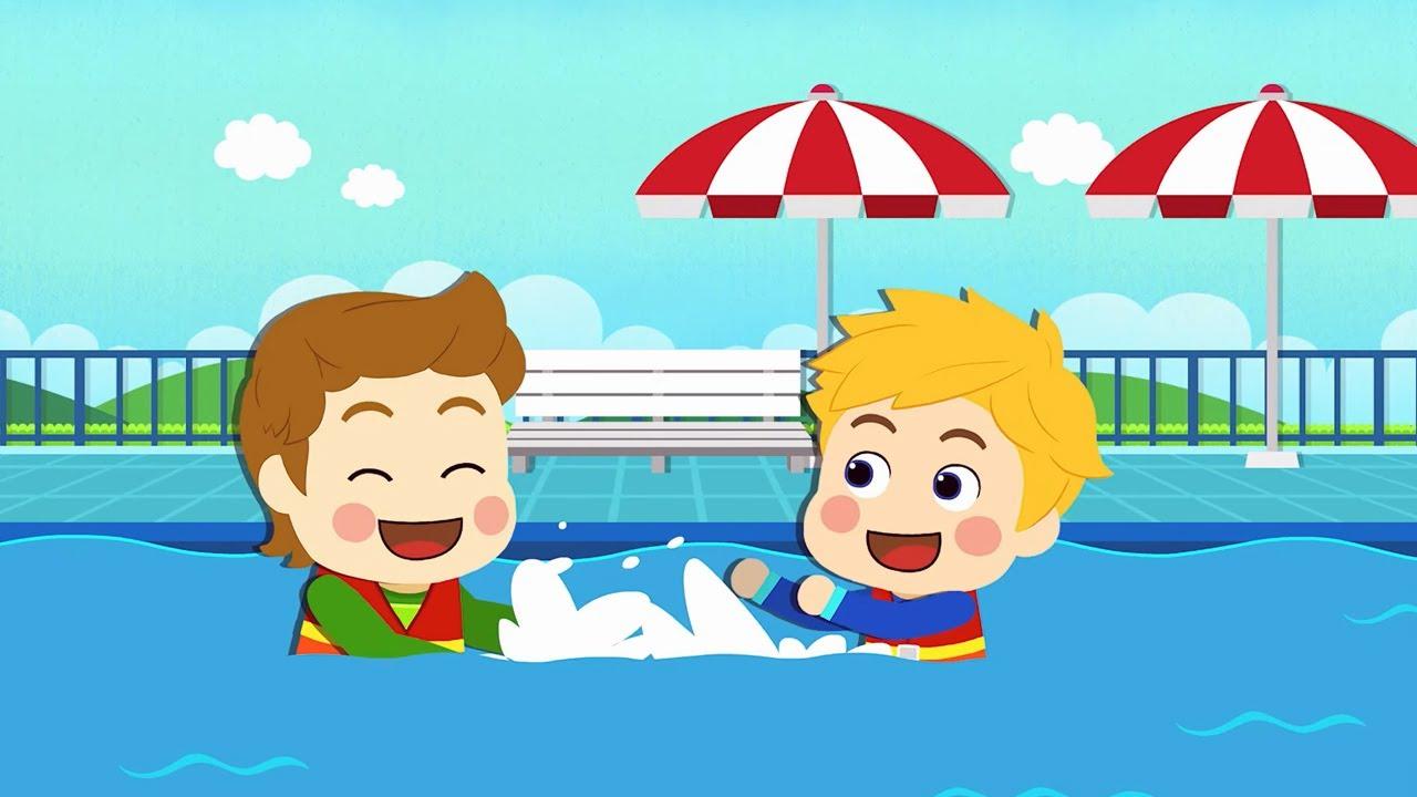 Мультфильм Робокар Поли - Безопасные игры на воде 🚑 Уроки безопасности с Эмбер 🚒