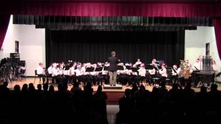 "2014-15 College Station MS Concert Band - ""Ukrainian Bell Carol"""