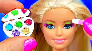 32 DIY MINIATURE BARBIE MAKEUP COLLECTION