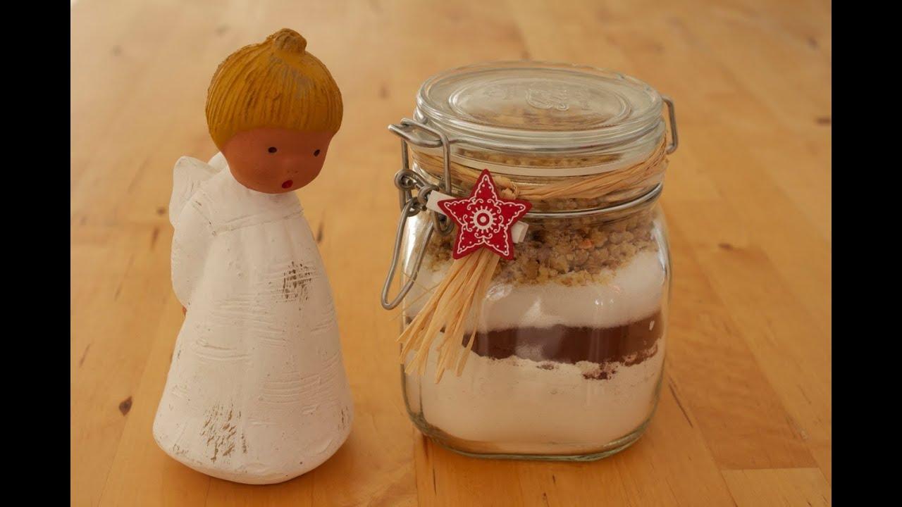 Diy Last Minute Geschenkidee Backmischung Im Glas Für Schokoladen