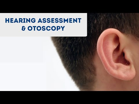 Otoscopy and Hearing Assessment (including Rinnes & Weber's test) - OSCE Guide