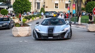 Supercars in Monaco 2018 - VOL. 19 (Chiron, Agera RS, 2x 918 Spyder, 688 HS, GT3 RS MkII)