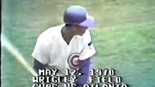 1970 05 Ernie Banks Cubs   Home Runs 498, 499, 500