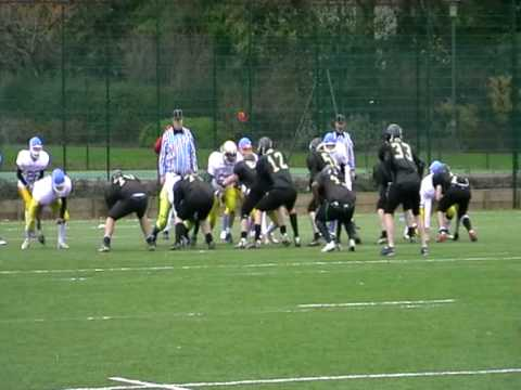 Nottingham Outlaws Rich Jackson TD Reception