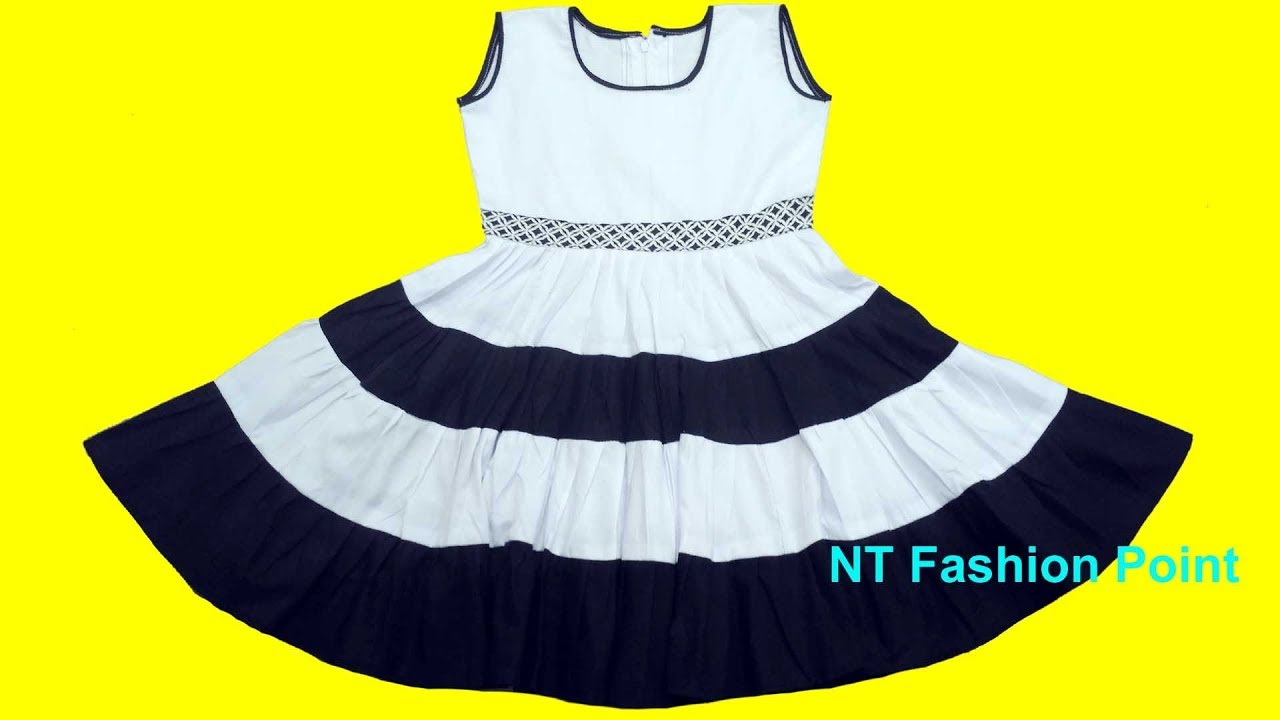 31ef5fcac How to learn latest designs baby frock | Baby girl clothes | Baby dress. NT  Fashion Point