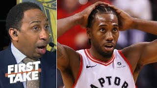 Nick Nurse disrupted Kawhi\'s flow, late timeout cost the Raptors in Game 5 - Stephen A. | First Take