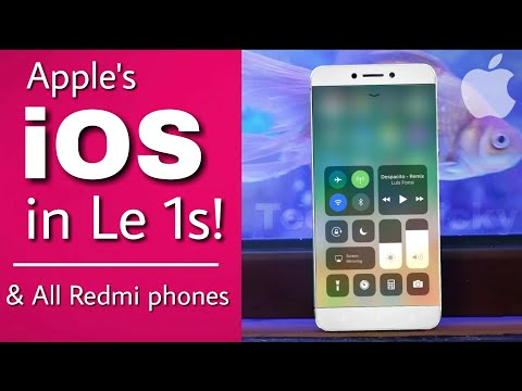 ☑ Apple iOS in LeEco le 1s & All Redmi phones!   iphone iOS in android   Best iOS interface ever!