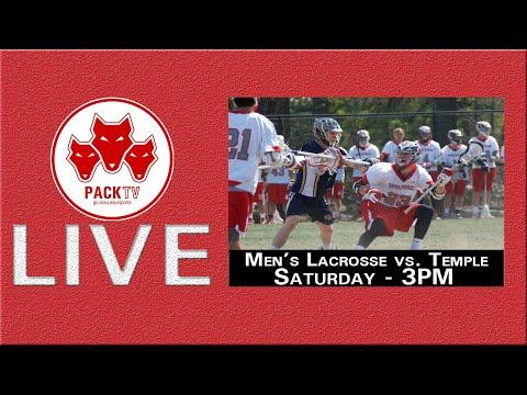 Men's Lacrosse Vs Temple (February 22nd, 2020)