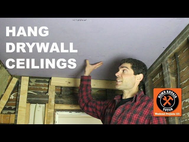 by hang on yourself ceiling lightneasy to a net how of large drywall ceilings hanging size
