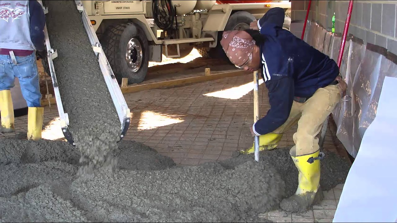 mixing of concrete It is not difficult to mix concrete, but beginners must learn to recognize when the desired consistency has been achieved one must also learn about safety precautions and about the materials to be gathered prior to mixing the tips below will acquaint those new to concrete with the process once.