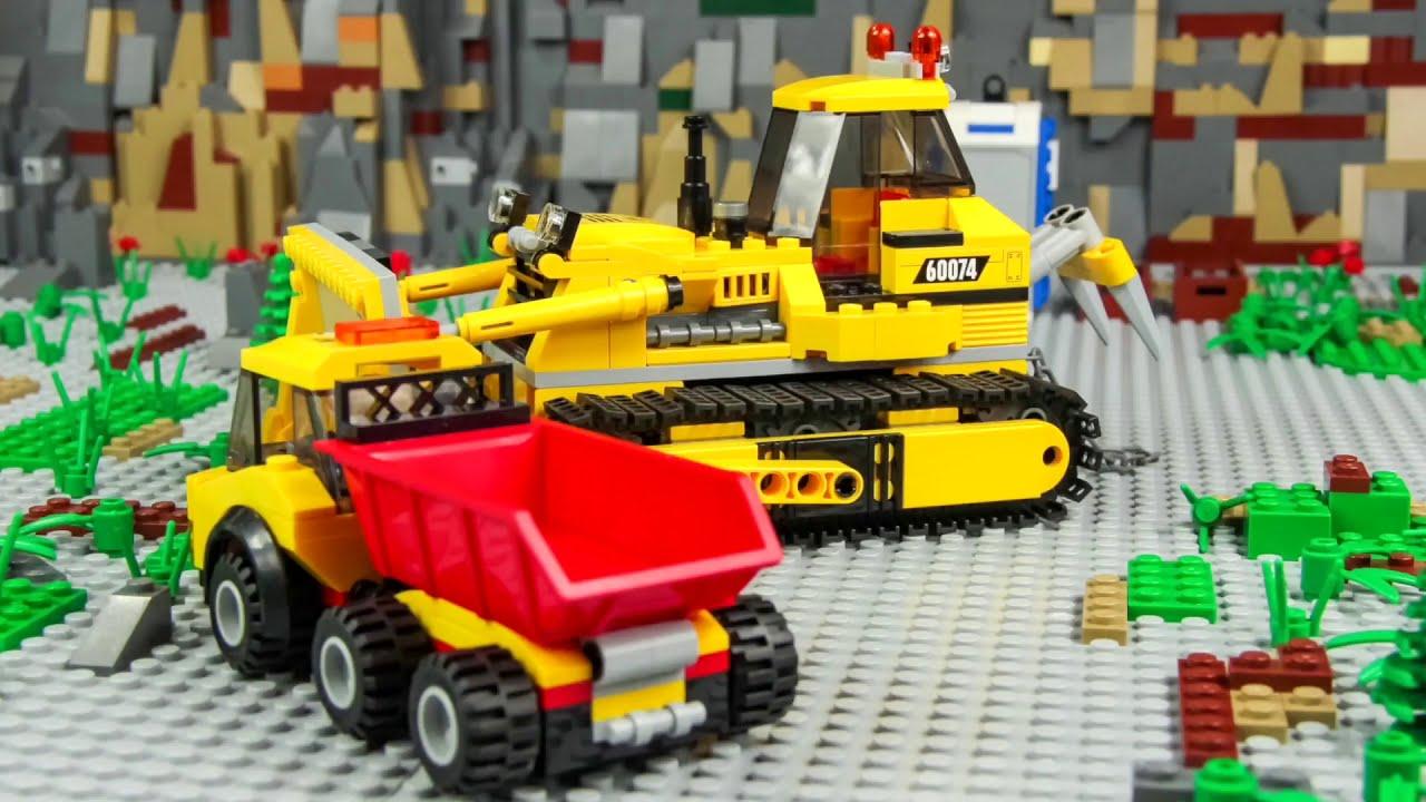 Police Cars Fire Truck Train Ambulance Excavator