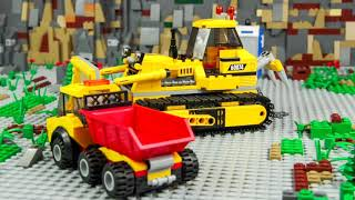 Police Cars, Fire Truck, Train, Ambulance, Excavator &amp Tractor LEGO Toy Vehicles for Kids