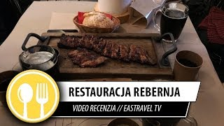 Restauracja: Rebernja, Arsenal Ribs And Spirits , Lwów // EasTravel TV