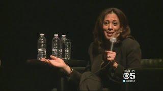 Sen. Kamala Harris Joins Live Podcast 'Pod Save America' In SF