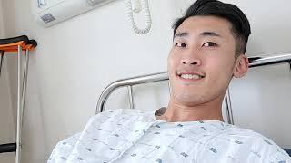 십자인대완전파열남 수술…