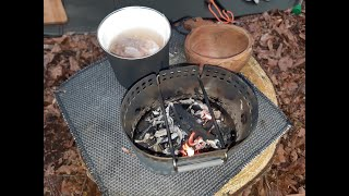 Bushcraft Tour mit BCB-Crusader-Holz-Test