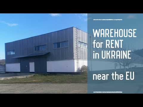 Warehouse For Rent Industrial Space For Rent Near The EU In Ukraine