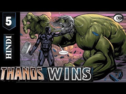 THANOS WIN'S  EPISODE#05(Explained in Hindi/Urdu) [THANOS VS THANOS] (COMICS COMMUNITY)