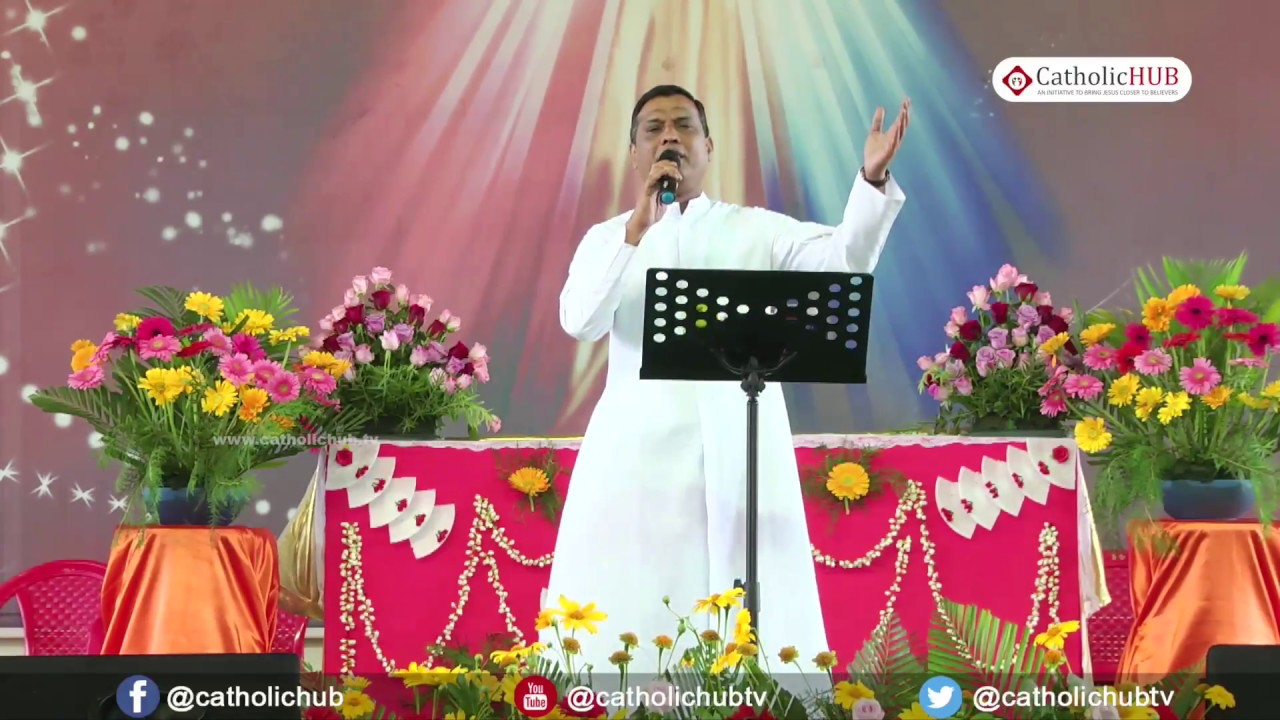 Be with God during Burdens-Rev.Fr.Syril@Bethsaida Jesus Christ Healing Centre,Tanjore,TN. 14-01-18
