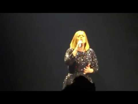 Hello - Adele, Rogers Arena Vancouver BC July 21 2016