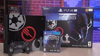 PS4 Pro Star Wars Battlefront 2 Edition Unboxing thumbnail