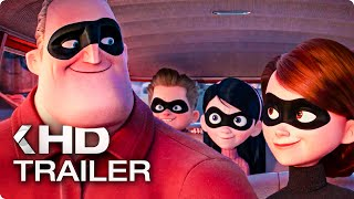 Incredibles 2 All Movieclips & Trailer (2018)