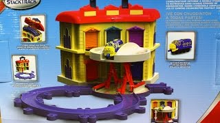 "Die-Cast Portable Double Decker Roundhouse / Chuggington набор ""Двухэтажное депо"" - Tomy - LC54217A"