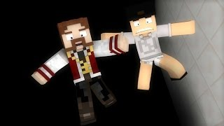 Minecraft: DESAFIO INSANO #3 - CAINDO PARA A MORTE!! (c/ Luiz)
