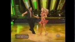 """Willa Ford and Maksim Chmerkovskiy perform the Mambo on """"Dancing With The Stars"""""""