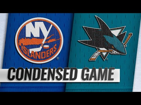 10/20/18 Condensed Game: Islanders @ Sharks