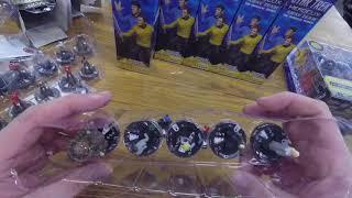 HeroClix Star Trek Away Team Unboxing