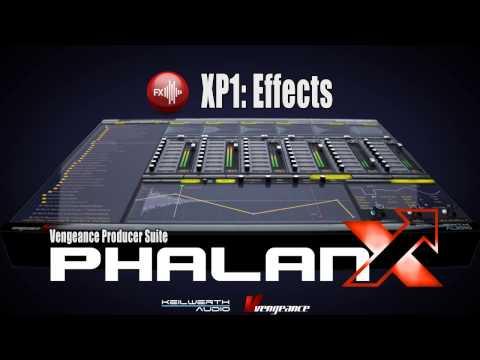 Vengeance Producer Suite - Phalanx XP1: Effects Vol. 1 Demo
