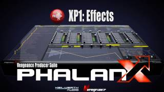 Vengeance Producer Suite - Phalanx XP1: Effects Vol 1 Demo