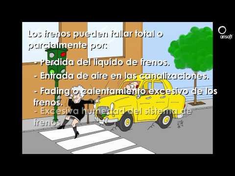 Vídeo curso autoescuela: Seguridad Activa.  Los frenos. Parte 02