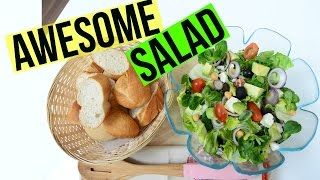 Salad Recipe - Avocado and Feta Cheese  Indian Cooking Recipes  Cook with Anisa