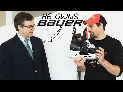 Why are BAUER skates $1000? I interview the new OWNER of Bauer