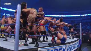 41 Man Battle Royal for a Championship Match of Winner's Choosing SmackDown, October 14, 2011
