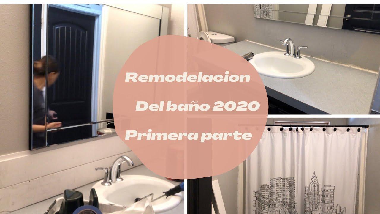 Remodelación del baño más chico / primera parte 2020
